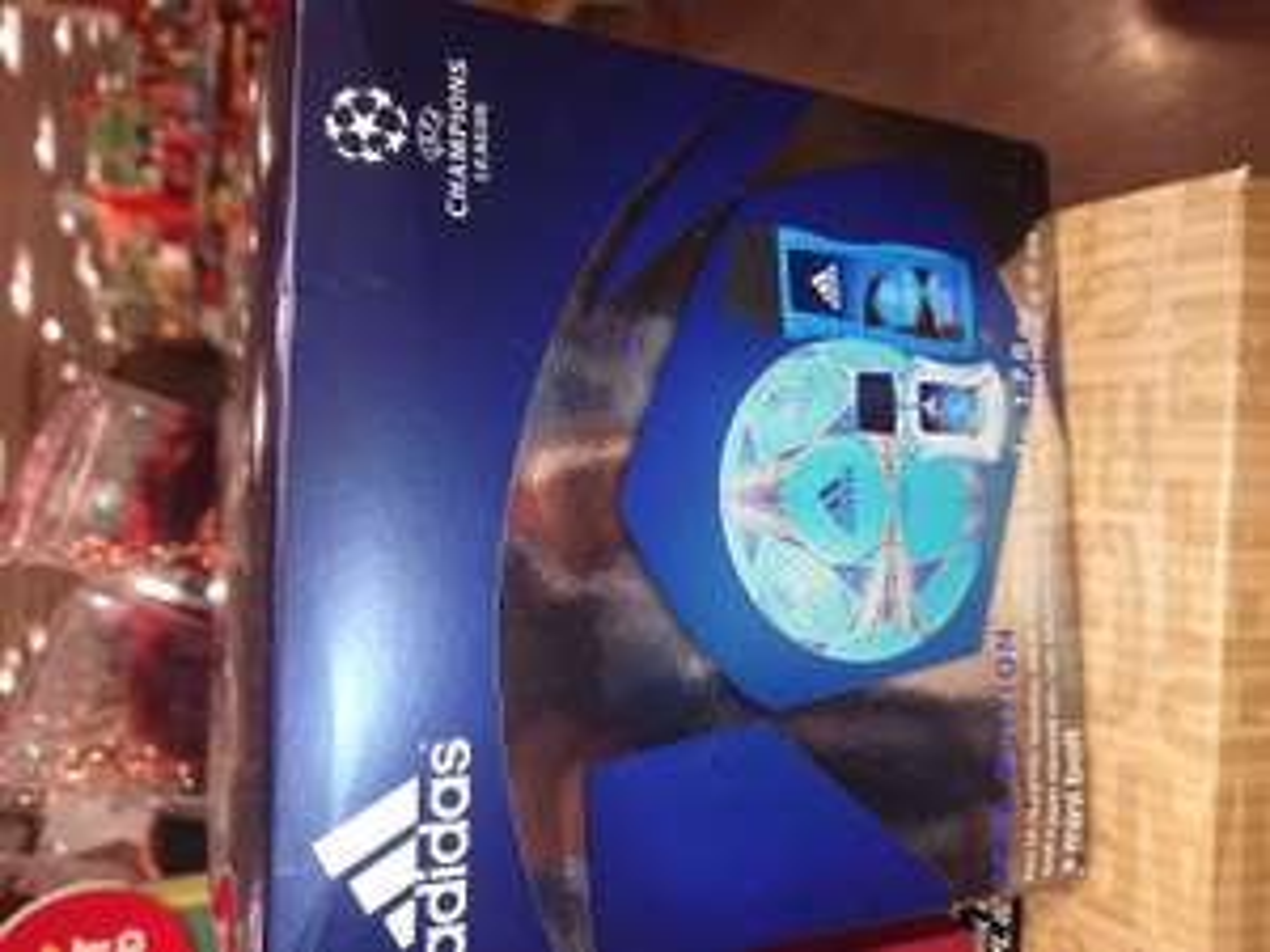 Addidas Star edition Champions League EDT 50 ml ,gel250 ml + mini ball £ 9.99 TKMAXX