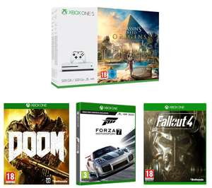 Xbox One S for £180 (effective £111 after cashback and CEX games sales)