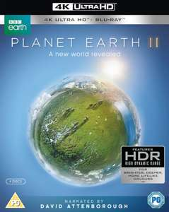 Planet Earth II - 4K Ultra HD Edition Blu-ray £16.14 with code BFPOWER @ Zavvi