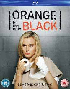 ORANGE IS THE NEW BLACK SEASONS 1 & 2 BLU-RAY £3.39 at zavvi with code powerBF