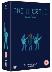 The IT Crowd - Complete Series 1-4  £10.90 @ Amazon Prime / £12.89 non-Prime