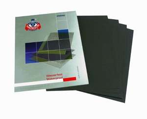 Starcke Matador 5000 Grit Sandpaper - 5 Sheets only £1.70 - German Sandpaper -  via Amazon