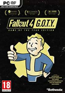 Fallout 4 GOTY (PC) Physical copy  £15.99 @ Amazon Prime / £17.98 non-Prime