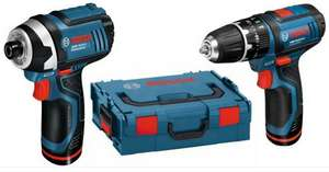 Bosch 10.8v Twinkit Combi Drill + Impact Driver - £104.50 Delivered @ Lawson-HIS