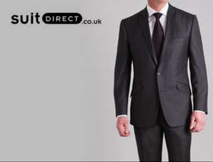 Wool and wool blend suits from Ben Sherman, Racing Green etc £49 @ SuitDirect