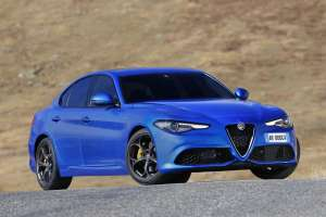 Alfa Romeo Giulia 2.0 TB 280 Veloce Personal 24 Month Contract Hire. £275.00 per month x 23 inc. VAT, 8,000 annual mileage, £2,475.00 Initial Payment.