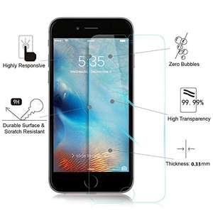 iPhone X screen protector £5.49 Prime Sold by Casemania UK and Fulfilled by Amazon