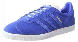 Adidas gazelles blue size 7.5 £26.77 after 20% discount @ Amazon. Free delivery