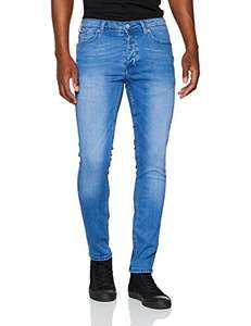 Men's Burtons hyperblue skinny jeans. Few sizes available @ Amazon. Free prime delivery