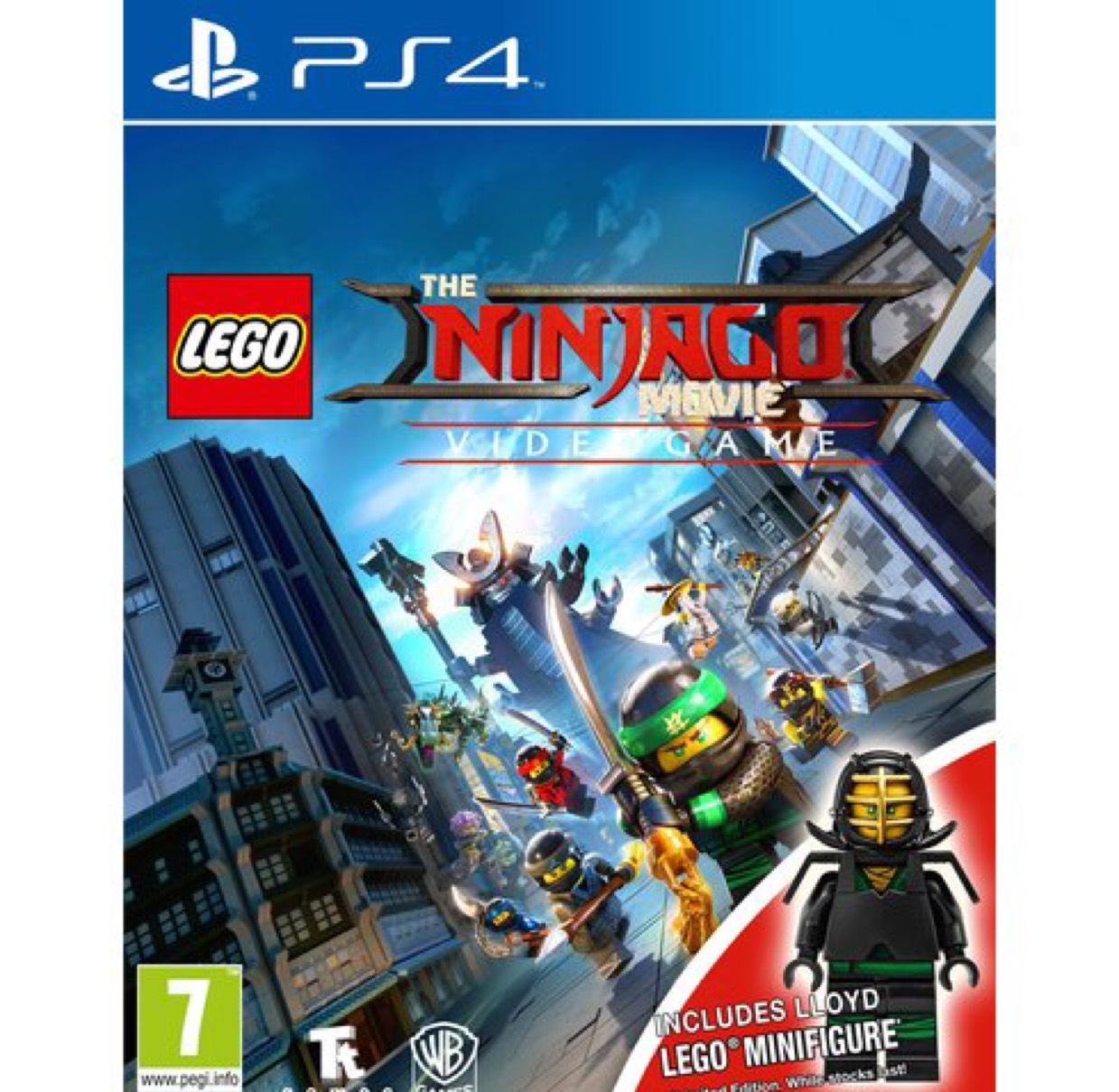 Lego Ninjago PS4/XBOX ONE - £24.99 @ Smyths Free Minifigure