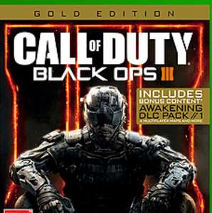 Black ops 3 £14.99 for Xbox one and PS4 @ GAME