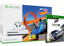 Xbox One S 500GB With Forza Horizon 3 & Hot Wheels + Forza Motorsport 7 £169.85 Delivered @ Shopto
