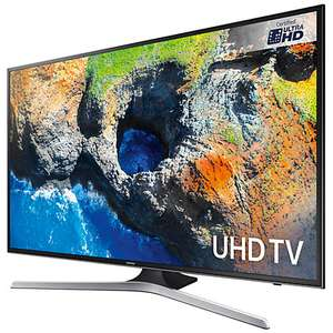 "Samsung UE55MU6120 HDR 4K Ultra HD Smart TV, 55"" with TVPlus, Black£569.00 @ John Lewis"