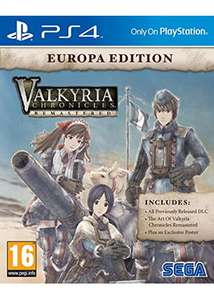 Valkyria Chronicles Remastered Europa Edition (PS4) - £12.49 @ Base