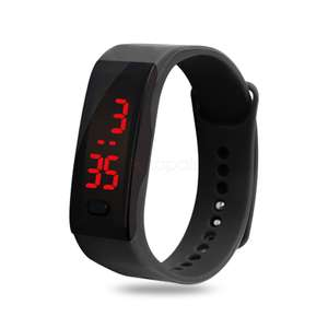 Digital LED Watch with Date Display (Random Colour) - £0.38 with Free Delivery at Zapals