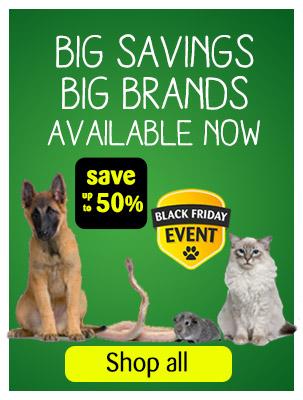 Save up to 50% at Pets at Home
