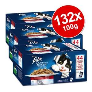 Zooplus 132 x Felix As Good As It Looks sachets £27.99 (see post re P&P)