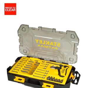 STANLEY FATMAX T HANDLE SOCKET SET, 30 PIECES @ b&q £20.00 was  £43.00 £40.85 you save  £23.00