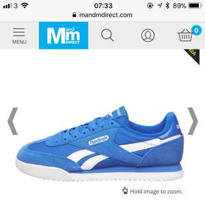 Reebok Junior Royal Rayen Trainers @ m&m  £12.99+delivery = £17.48