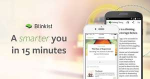 Blinkist 50% off for 24 hours