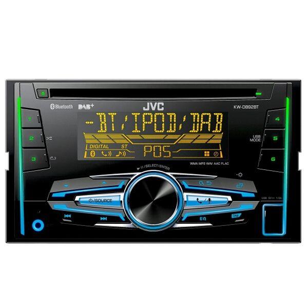 JVC KW-DB92BT Car Stereo CD MP3 AUX USB DAB FREE DAB Aerial at Eurocarparts for £135.99