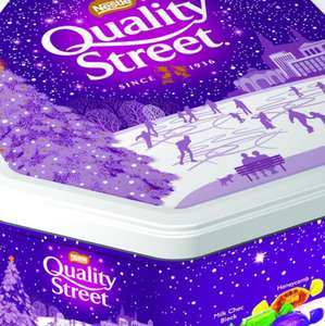 QUALITY STREET TIN 1.2KG at Wilko for £7.50