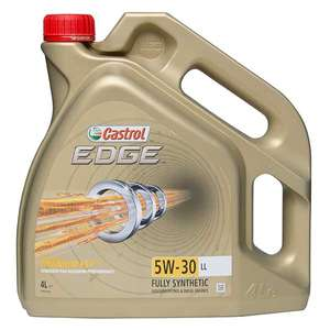 Castrol Edge Long Life Engine Oil - 5W-30 - 4ltr at Eurocarparts for £10.99