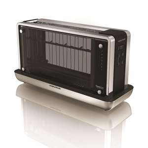 Redefine glass toaster from Morphy Richards £63.99 delivered with code VC20