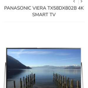 Panasonic 58dx802b £899 @ Krish