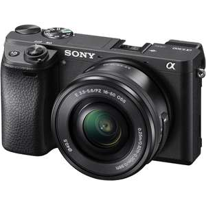 Sony A6300 Compact System Camera With 16-50mm £799 @ John Lewis £699 after Cashback