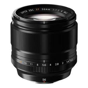 Fujifilm XF 56mm f/1.2 R lens - £768 plus £190 cashback from Fuji, Free 32GB SDHC card and TCB @ Park cameras