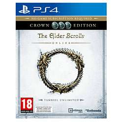 Elder Scrolls Online CROWN EDITION on PS4. New, only £4.99 @ Game