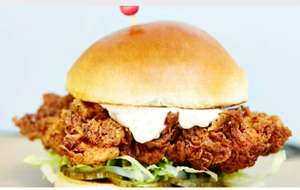 500 free chicken burgers up for grabs in Shoreditch