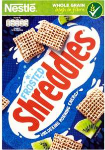 Nestle Frosted Shreddies (500g) / Nestle Coco Shreddies (500g) was £2.57​ now £1.25 @ Morrisons