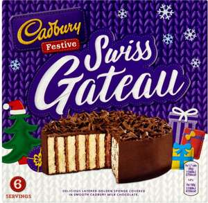 Cadbury Swiss Gateau Offer price £2, was £2.75 (Serves 4) @ Morrisons