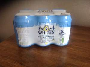 R Whites Premium Diet Lemonade 6 x 330ml cans £1 instore @ Heron.