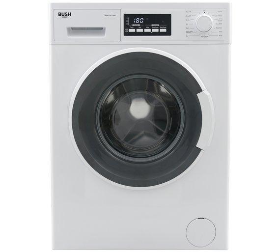 Was £249 Bush WMDFX714W 7KG Washing Machine - White Delivered £159 @ Argos