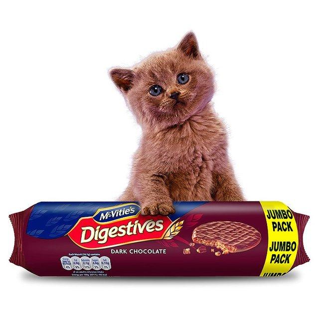 McVities Dark or Milk Chocolate Digestives (500g Jumbo Packs) was £2.00 now £1.00 @ Morrisons