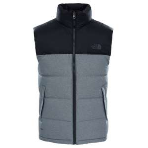 The North Face Men's Nuptse 2 Vest/Gilet Grey. Reduced from £140 to £65 + free delivery. Sizes S, L and XL @ Great Outdoors Superstore