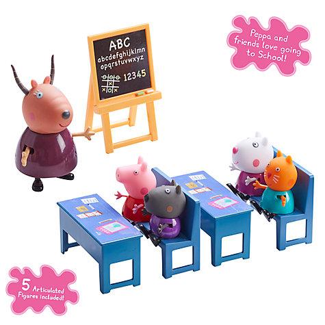 Peppa Pig Classroom set - £8 (+ £2 C+C) @ John Lewis