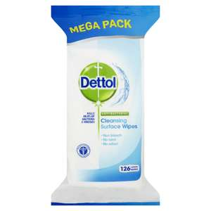 Dettol Antibacterial Cleansing Surface Wipes (126 pack) now £3.00 / Dettol Antibacterial Cleansing Surface Wipes Lime and Mint (84pack) was £3.50 now £1.75 @ Wilko