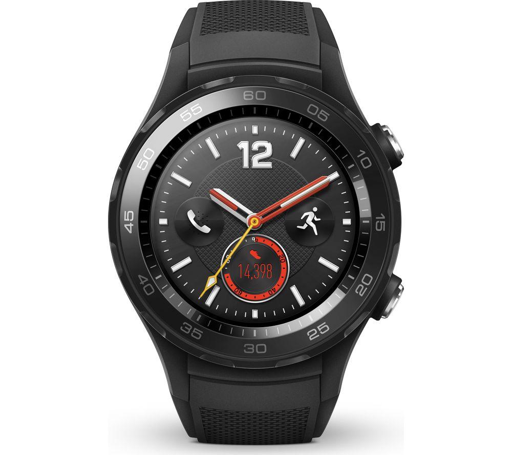 HUAWEI Watch 2 Sport 4G - Black - £209 @ Currys