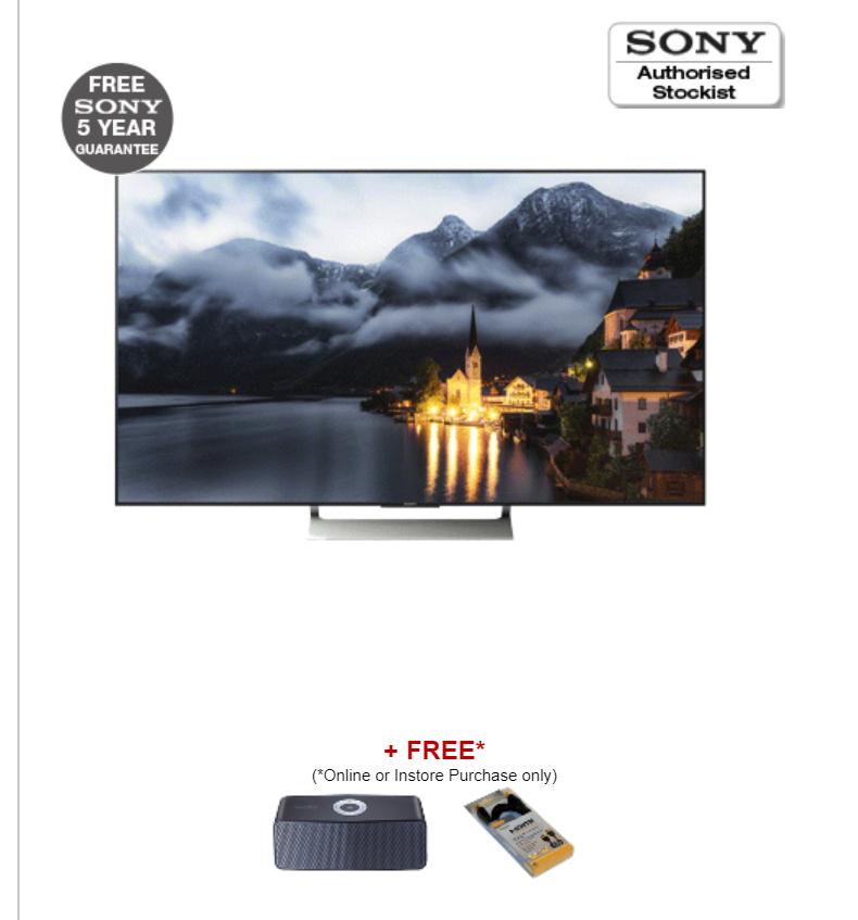 "SONY KD55XE9005BU55"" Ultra HD Smart 4K LED TV - £1099 @ RGB Direct"