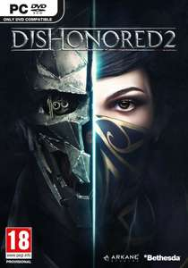 Dishonered  2 steam key £6.99 @ CD Keys