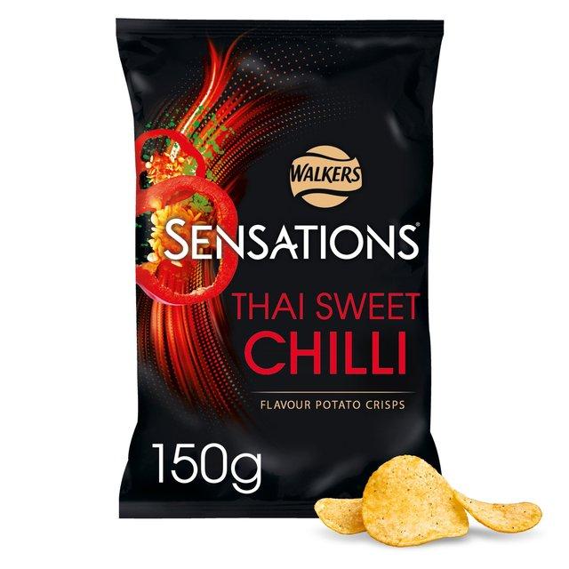 Sensations Thai Sweet Chilli Crisps (150g) / Sensations Roast Chicken & Thyme Crisps (150g) / Sensations Onion & Balsamic Vinegar Crisps (150g)  was £1.98 now £1.00 @ Morrisons