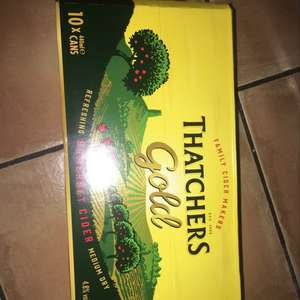 Thatchers gold - £6.03 instore @ Co-op