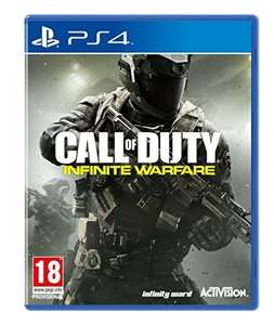 Call Of Duty: Infinite Warfare Standard Edition w/ Extra Content and Pin Badges PS4 - £8.99 Prime / £10.98 non Prime @ Amazon