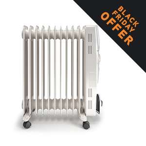 Vax PowerHeat 2500w Oil Filled Radiator £49.99 @ Vax