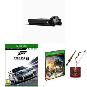 Xbox One X 1TB Console + Forza Motorsport 7 + Assassin's Creed Origins Limited Edition £449.99 @ Amazon
