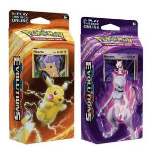 Pokemon -Theme Decks (Set of Two) - XY Evolutions - £8.95 @ Chaos Cards